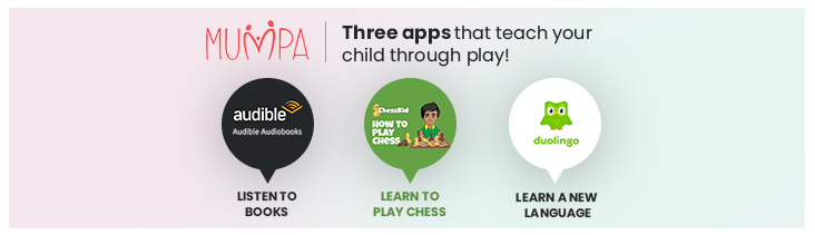 Three app that teach your children through play
