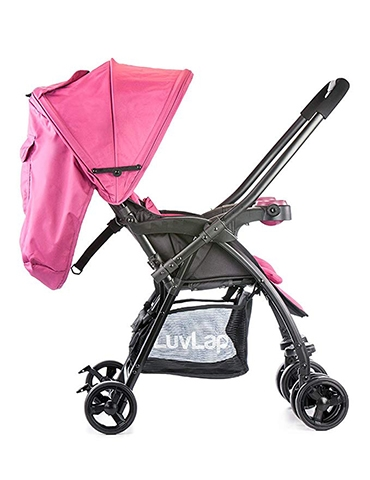 Luvlap Joy Baby Stroller Purple - part - 2 - mumpa