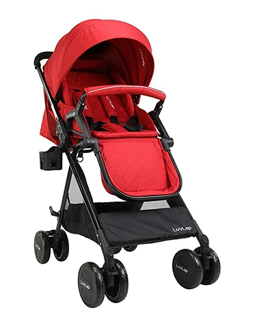 LuvLap-Baby-New-Sports-Stroller---Red