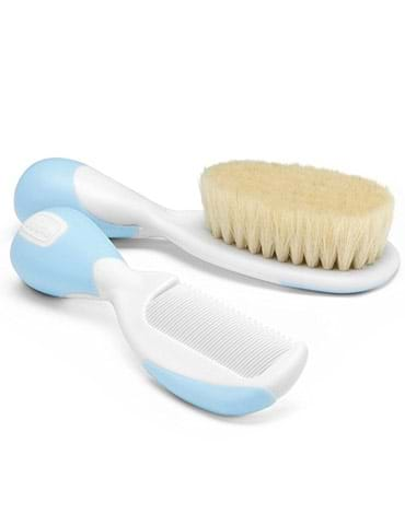 Chicco Brush And Comb (Light Blue)