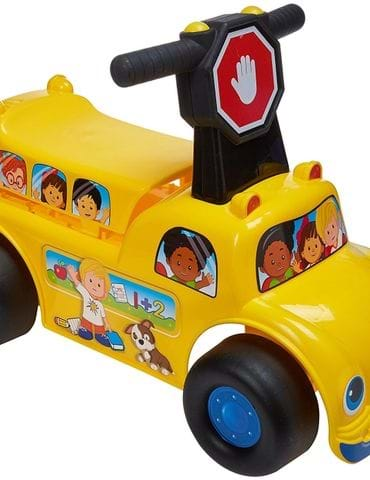 Fisher-Price School Bus Ride-on Vehicle - part - 1 - mumpa