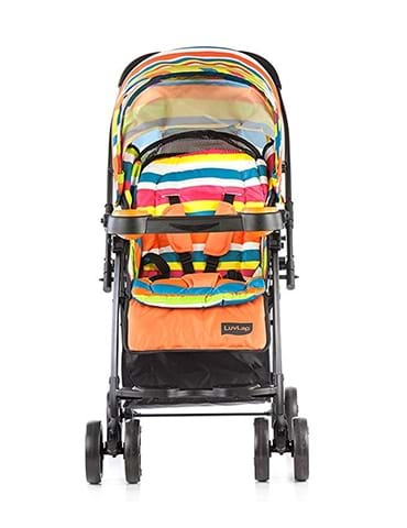 Luvlap Joy Baby Stroller Orange