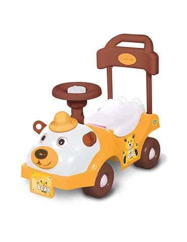 Toyzone Bear Rider Multi Color Baby Play Car - part - 1 - mumpa