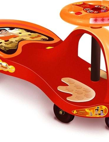 Toyzone Jumbo Rider 3 In 1 Car for Kids to Drive - part - 1 - mumpa