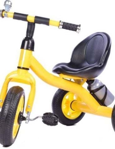 STEPUPP BABY TRICYCLE YELLOW BLACK - part - 1 - mumpa