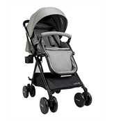 LuvLap Baby New Sports Stroller Grey