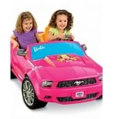Baby Girl Car Fisher-Price Power Wheels Barbie Ford Mustang