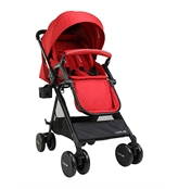 LuvLap Baby New Sports Stroller Red