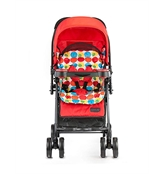 Luvlap Joy Baby Stroller Red